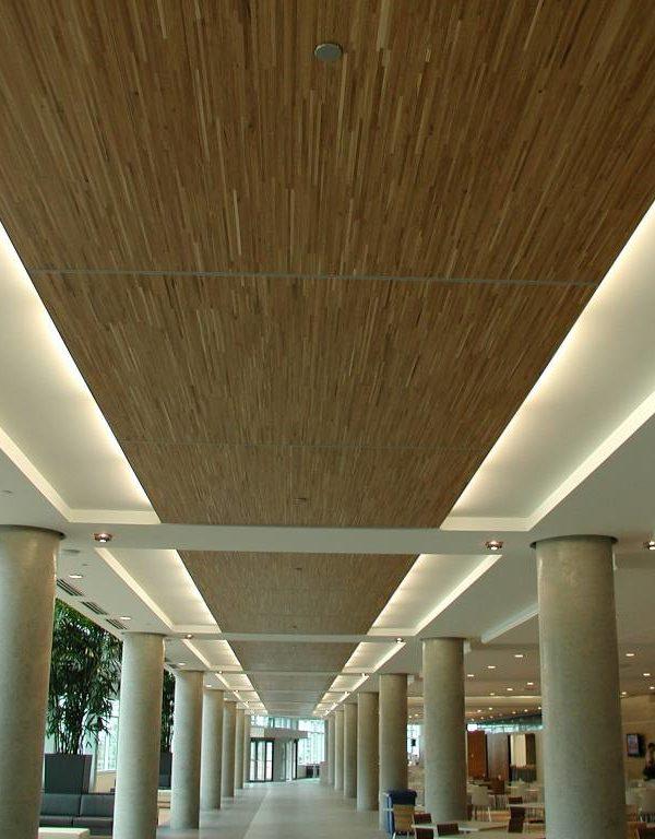 Bell - Plafond en chêne blanc d'ingénierie